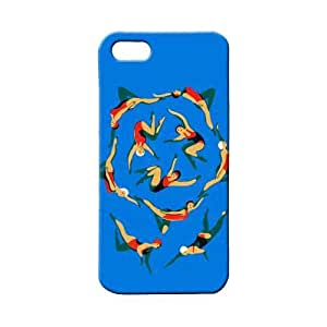 BLUEDIO Designer 3D Printed Back case cover for Apple Iphone 4 / 4S - G4014
