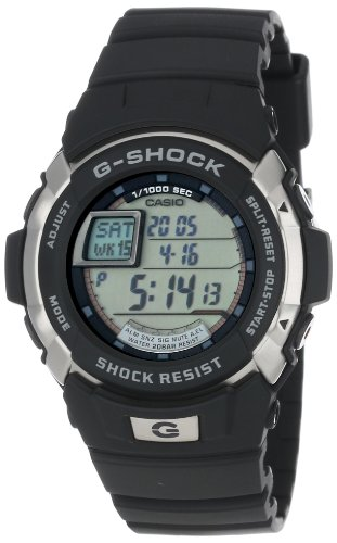 Casio Men's G7700-1 G-Shock Trainer Multi-Function Shock Resistant Watch (Gshock Lap Timer compare prices)