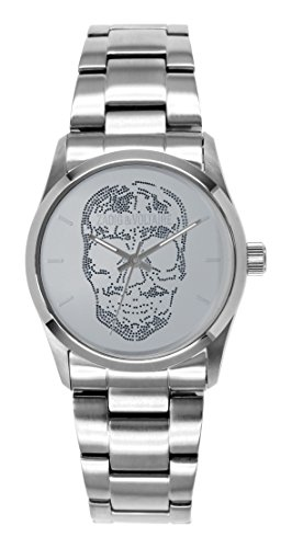 Zadig Voltaire ZV &029/FM-Rock Unisex Watch Analogue Quartz Silver Dial Silver Steel Strap