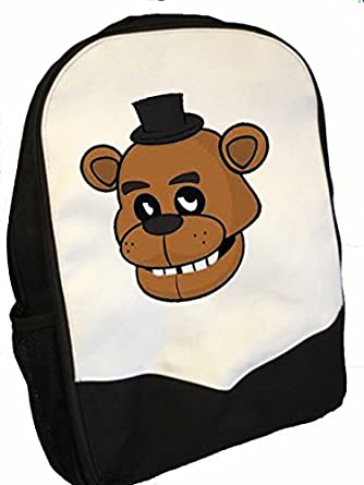 Shoulder bags for school walmart - Five Nights At Freddy Face Backpack Amazon Co Uk Clothing