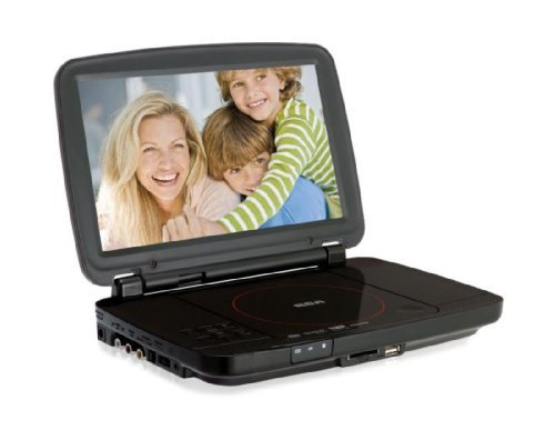 RCA DRC99310U 10-Inch Portable DVD Player with USB and SD Card Slot