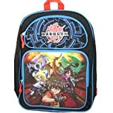 Bakugan Battle Brawlers Backpack; Kids Large School Book Bag Back Pack