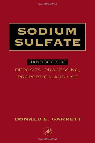 Sodium Sulfate: Handbook of Deposits, Processing, & Use