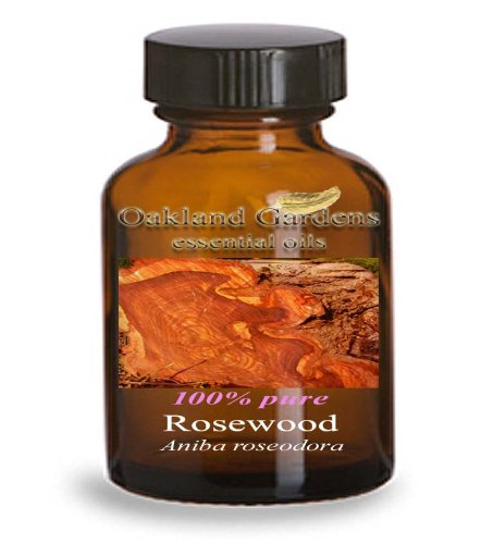 ROSEWOOD Essential Oil (30 mL Euro Dropper) - 100% PURE Therapeutic Grade Essential Oil - Aniba roseodora - Essential Oil By Oakland Gardens