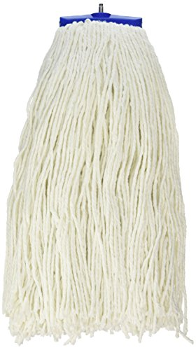 UNISAN Cut-End Lie-Flat Wet Mop Head, Rayon, 24-Ounces, White (724R) (24oz Rayon Wet Mops compare prices)