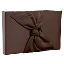 Ivy Lane Design Love Knot Guest Book, Chocolate