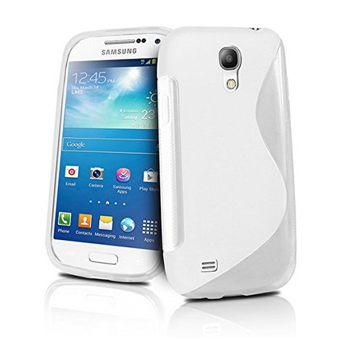 Cable And Case Slim Rugged Soft Jelly Shell Case for Samsung Galaxy S4 - White (Kirby Galaxy S5 Case compare prices)