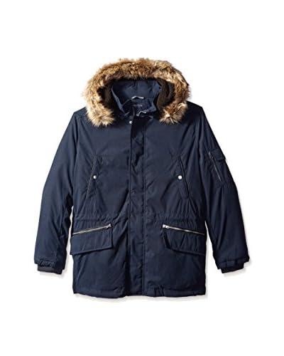 Nautica Men's Biblend Parka with Faux Fur Jacket