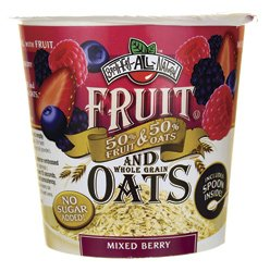 Fruit and Whole Grain Oats - Mixed Berry 1.16 oz Pkg