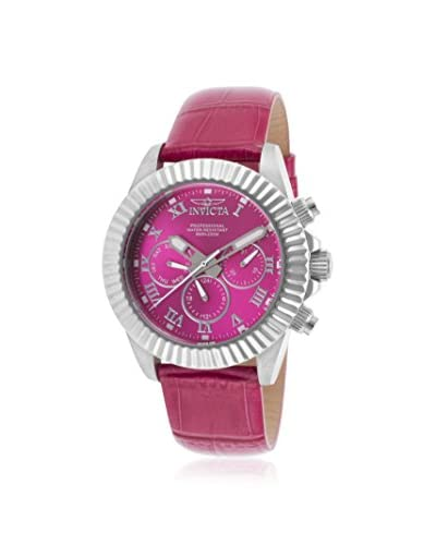 Invicta Women's Pro Diver Pink Stainless Steel Watch