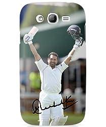 iAccy STS001 Sachin Tendulkar Signature Case for Samsung Galaxy S3 (Matte Finish)