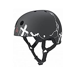 Triple 8 Balloon Robot Special Edition Helmet (Black, Small)