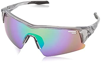 Buy Spy Optics Screw Over Clear Wrap Polarized Sunglasses by Spy