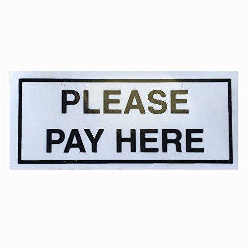 Please-Pay-Here-Taxi-Sticker-For-Taxis-With-A-Drivers-Partition