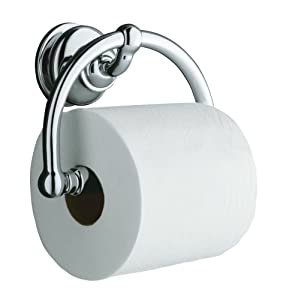 KOHLER K-12157-CP Fairfax Toilet Tissue Holder, Polished Chrome at Sears.com