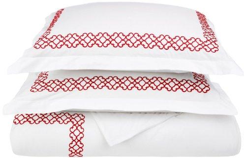 Red Duvet Cover Sets front-1038287