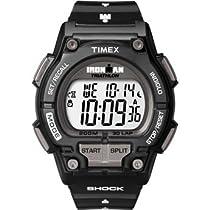 Timex Ironman Shock-Resistant 30-Lap Watch Black, One Size