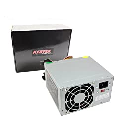 400W 400 Watt ATX Power Supply Replacement for HP Compaq PN: 5187-1098, 5187-5008, 5183-6914 by KENTEK
