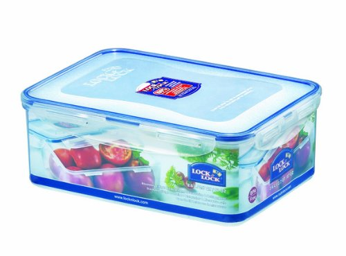 Lock  Lock Rectangular Food Container Short 10 8 Cup 87-Fluid OuncesB0000AN4CV