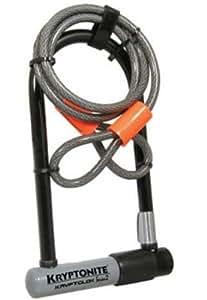 kryptonite kryptolok series 2 standard bicycle u lock with trans. Black Bedroom Furniture Sets. Home Design Ideas