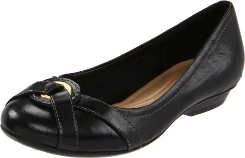Naturalizer Women's Daily Flat,Black,9 M US