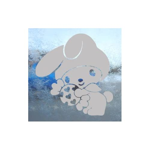 My Melody Gray Decal Hello Kitty Car Truck Window Gray Sticker
