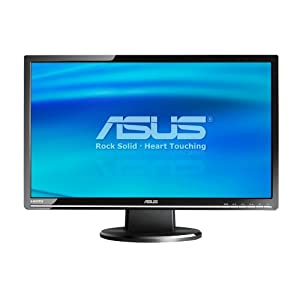 ASUS VW266H 25.5-Inch Widescreen LCD Monitor – Black