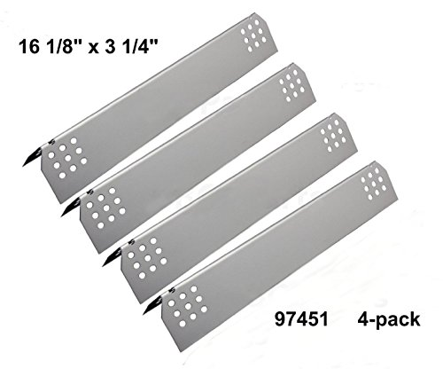 barbqs-97451-4-pack-stainless-steel-heat-plates-replacement-for-gas-grill-model-kitchen-aid-720-0745