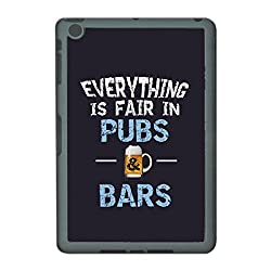 Skin4gadgets EVERYTHING IS FAIR IN PUBS & BARS Tablet Designer GRAY SMART CASE for APPLE IPAD MINI2