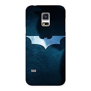 Blue Knight Multicolor Back Case Cover for Galaxy S5 Mini
