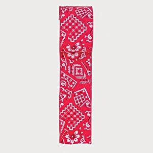 """Pack of 6 Decorative Western Red Bandana Wired Craft Ribbons 2.5"""" x 60 Yards"""