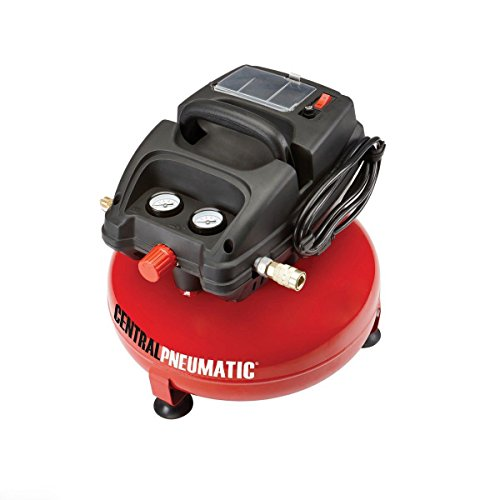 3 Gallon 100 PSI Pancake Mini Portable Air Compressor Oilless 1/3 HP