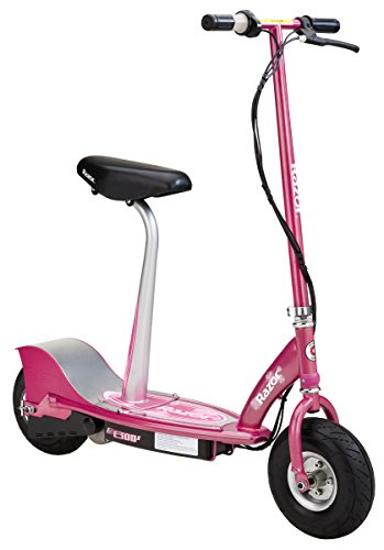 Razor E300S Seated Electric Scooter - Sweet Pea (Razor Electric Mod Scooter compare prices)