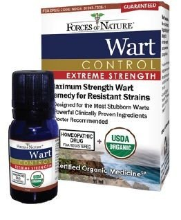 Extreme Warts No More 11 ML FORCES OF NATURE Extreme Remedies