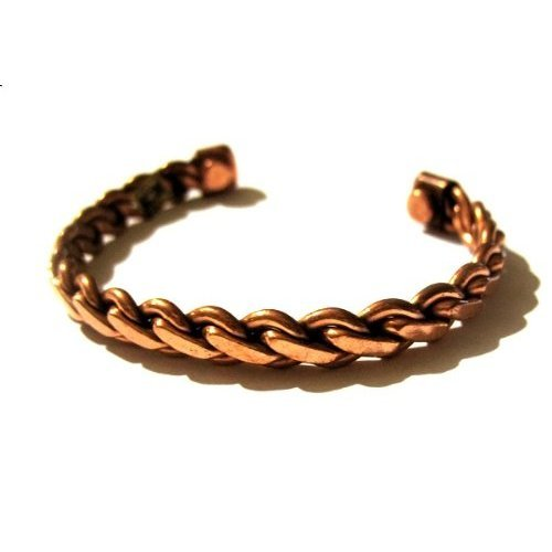 Copper Magnetic Therapy Bracelet Adjustable and in Rope Design