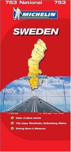 Sweden 2007 (Michelin National Maps)