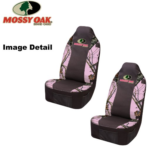 Mossy Oak Infinity Pink Camo Print Car Truck Suv Front