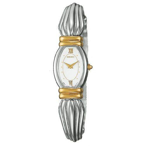 Seiko Bangle Style Two Tone Dress Watch SWA038