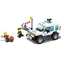 Police Vehicles 3 In 1 Building Blocks Toy 217pcs Play Set Emergency City Patrol Cars Includes A Police Jeep Truck...