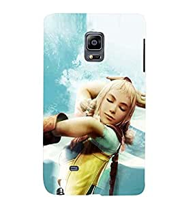 PRINTSWAG BEAUTIFUL GIRL Designer Back Cover Case for SAMSUNG GALAXY NOTE EDGE/NOTE4 EDGE DUAL