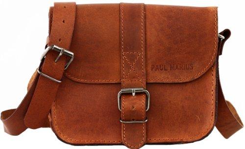 L'Essentiel, (S), colore naturale, borsa pelle vintage, borsa a mano, borsa a tracolla PAUL MARIUS Vintage & Retro
