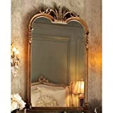 Ornate Victorian Arch Wall Mirror Extra Large