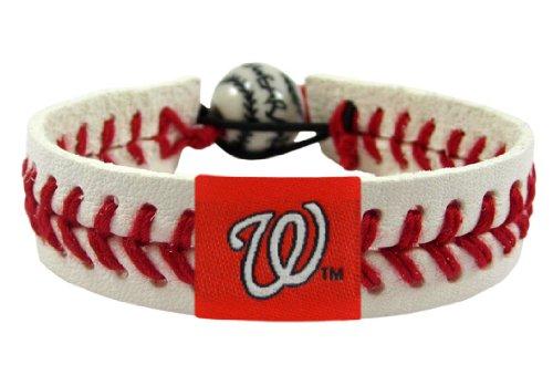 MLB Washington Nationals Classic Baseball Bracelet
