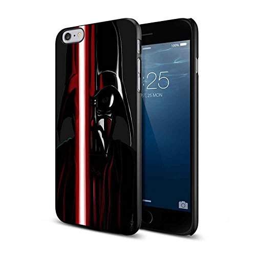 Darth Vader Starwars for Iphone and Samsung (iPhone 6 Plus Black)