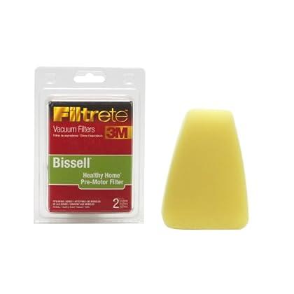 Purchase 3M Filtrete Bissell Healthy Home PreMotor Allergen Vacuum Filter, 2 Pack