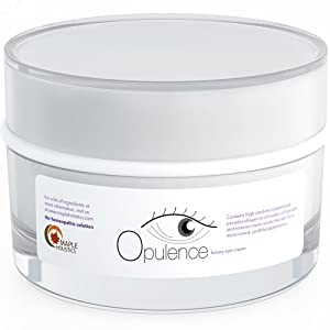 Eye Cream for Wrinkles, Dark Circles & Puffiness with Natural Ingredients, Highest Grade - Lavishly Rich & Creamy for Women, Teens & Men
