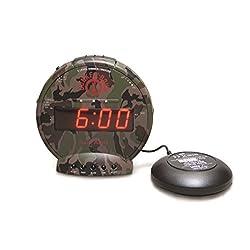 Sonic Alert SBC575SS Bunker Bomb Alarm Clock
