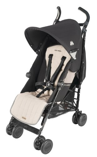 Maclaren Quest Sport Stroller, Black/Champagne (Discontinued by Manufacturer)