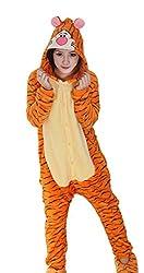 Toyobuy Adult Unisex Animal Kigurumi Cosplay Costume Pajamas Onesies Sleepwear