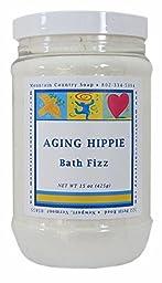 Aging Hippie Patchouli Aromatherapy Bath Fizz